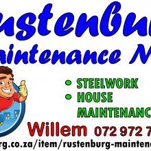Rustenburg Maintenance Man