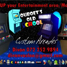 Ouboet's Old School Custom Arcades