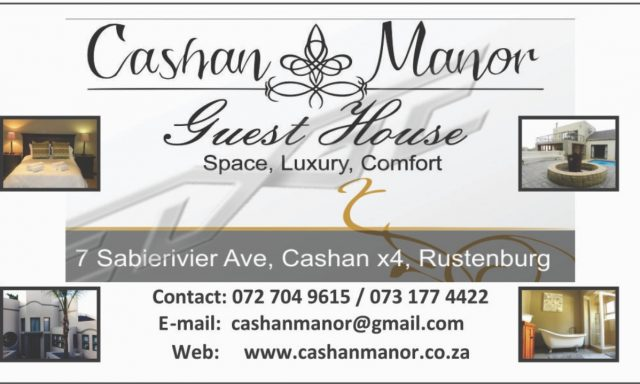 Cashan Manor Guesthouse