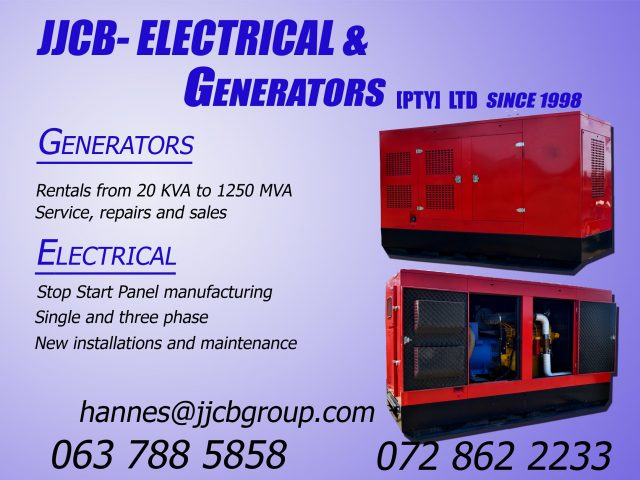 JJCB – Electrical & Generators